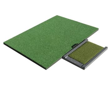 FairwayPro Golf Mat System and Stance Mat Combo Package